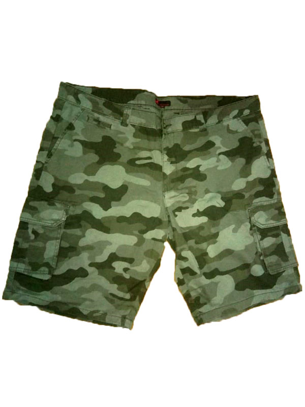 60a5f03938b Camouflage Cargo Shorts PSM-367 - Plus Size Clothing in Pakistan